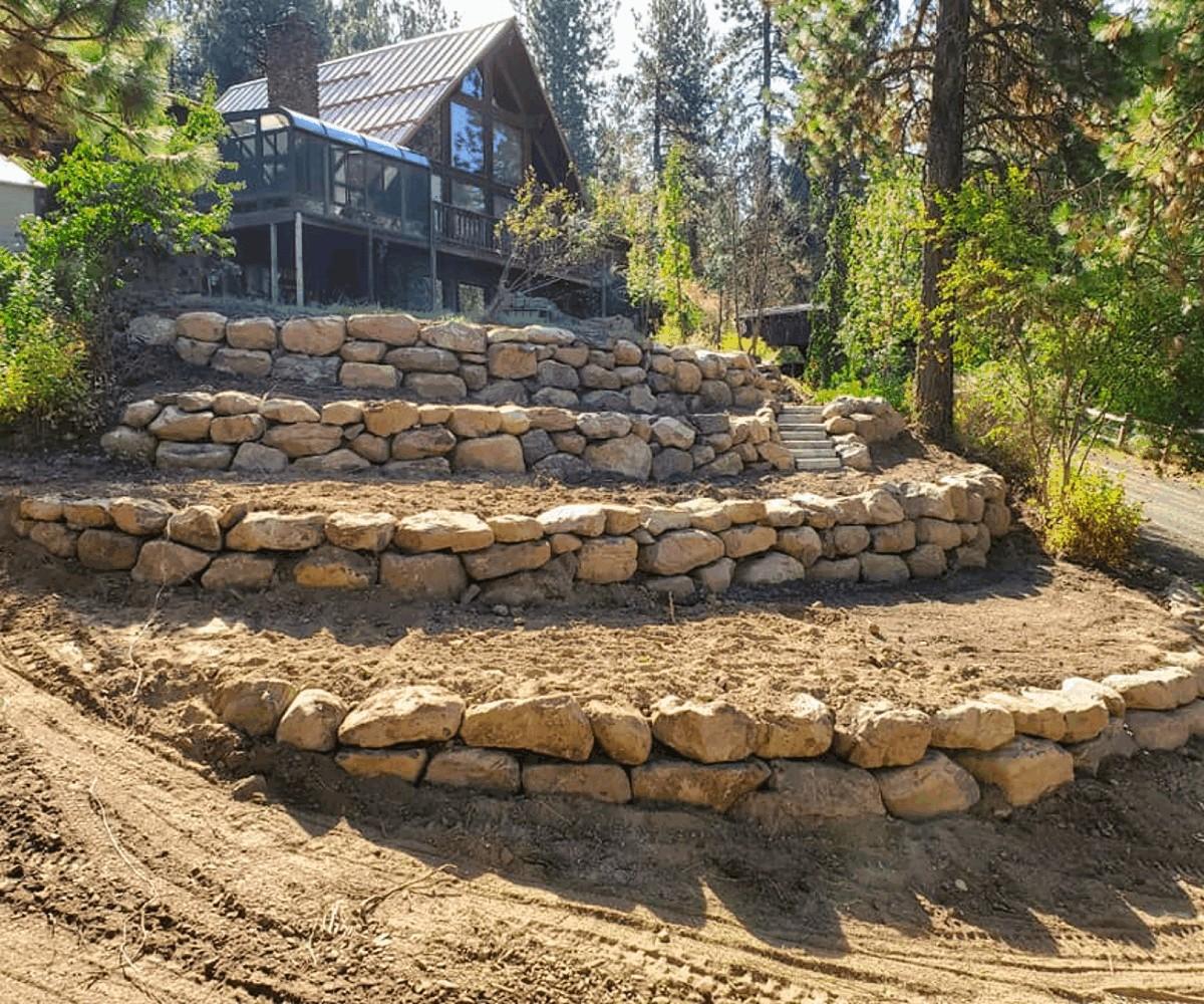 Tiered Boulder Area