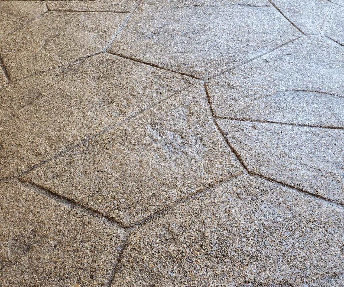 Sand Washed Floor