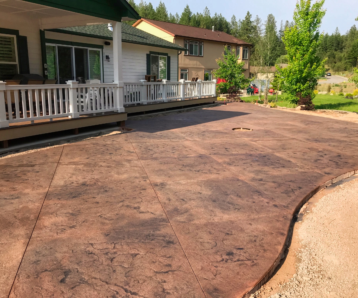 Sand Washed Patio