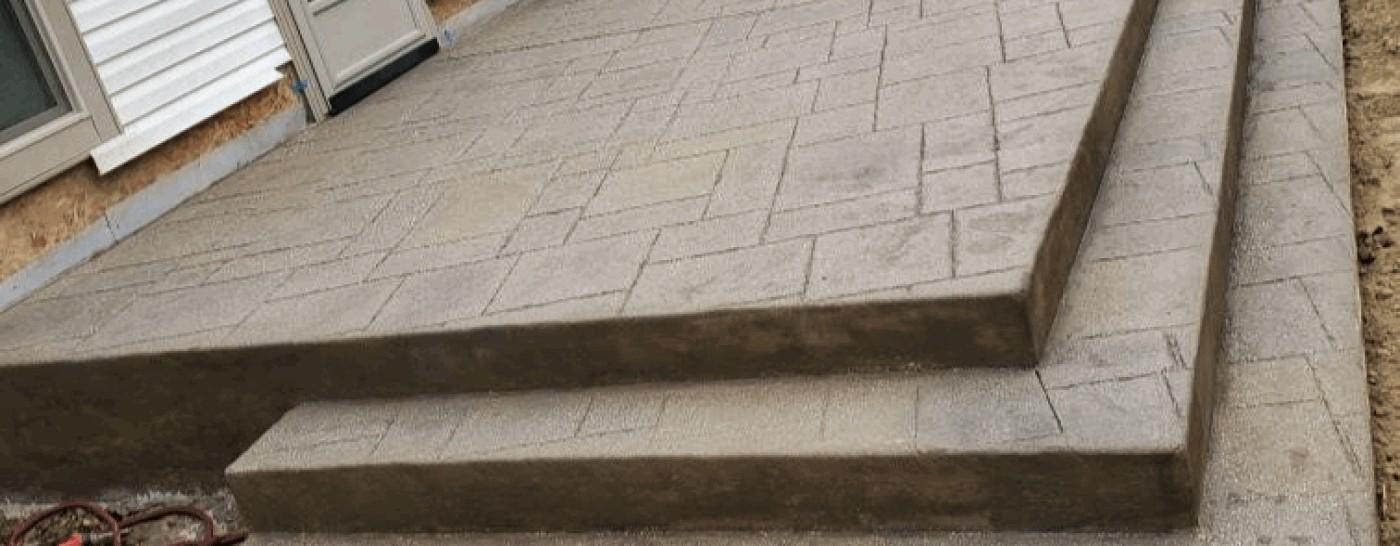 Sand Washed Steps