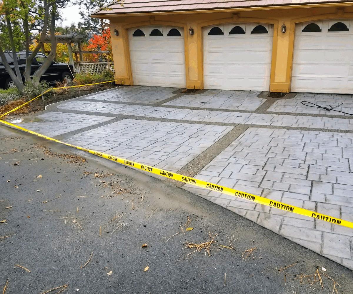 Spokane Driveway Install
